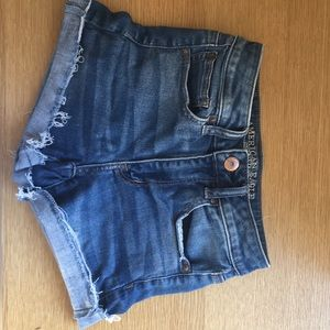 American Eagle Medium Wash Denim Shorts